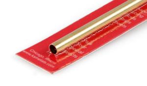 1/4 Round Brass Tube (8131)