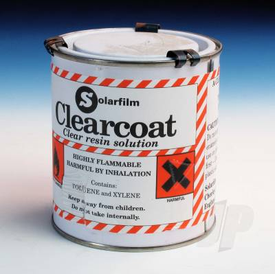 Clearcoat 500ml Tins