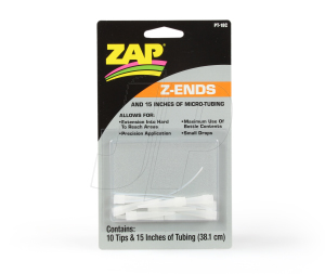 Z-Ends Tips & micro Dropper Tube (10) PT18c