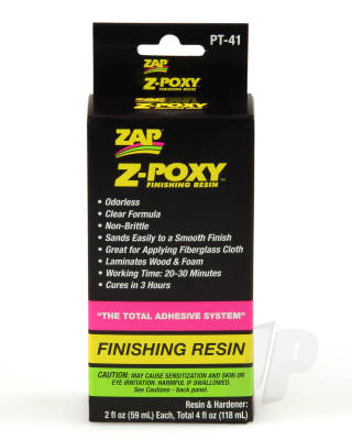 PT41 Z-Poxy Finishing Resin 4oz