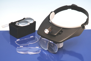 Headband Magnifier + 4 Lenses (LC1764)