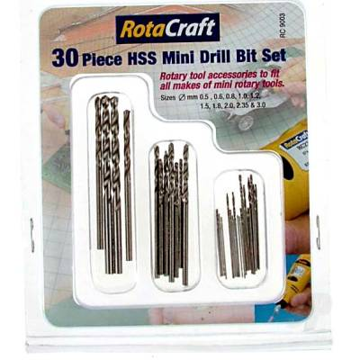 30pc HSS Mini Drill Bit Set (RC9003)