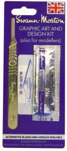 Swan Morton Surgical Handle No.4 With No.26 Blades (5)