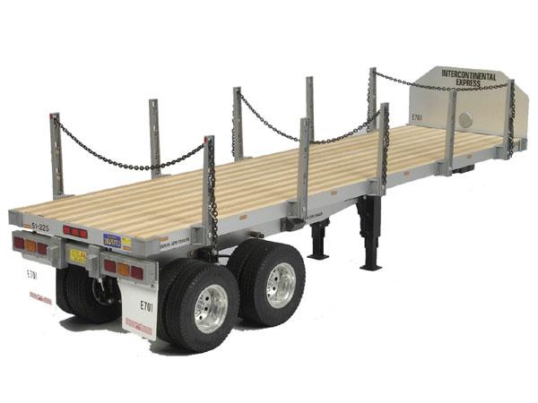 Tamiya Flatbed Semi Truck Trailer 1/14
