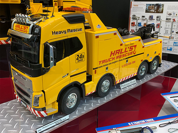 Tamiya Volvo FH16 8x4 Tow Truck (Price TBC) Pre Order Now Est 11 Apr