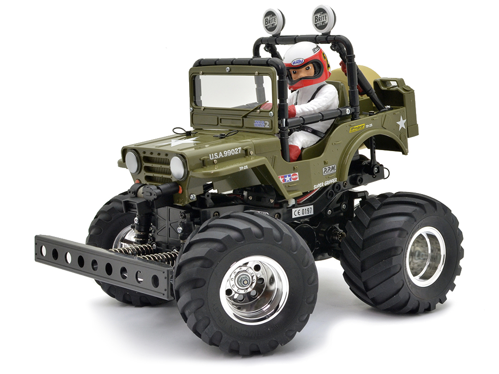 Tamiya Wild Willy 2 Inc Tamiya ESC