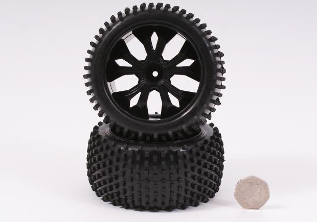 Rear Wheel & Tyre (Black)