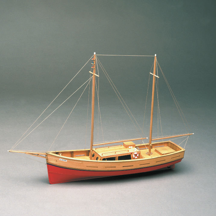 Capri model boat kit