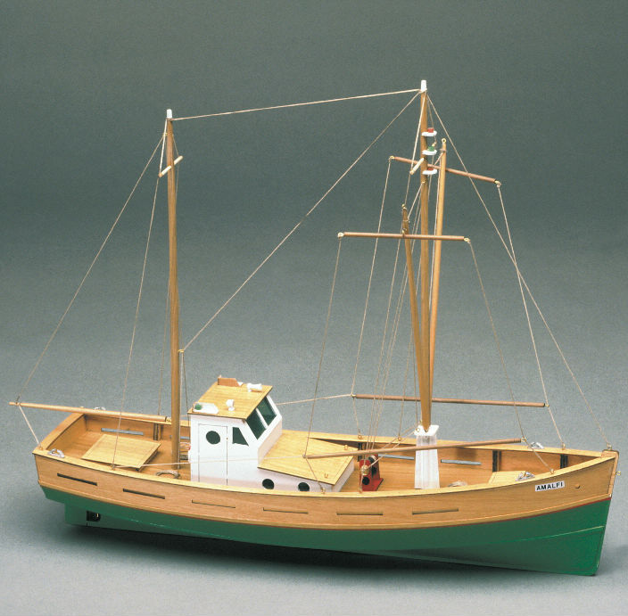 Amalfi model boat kit