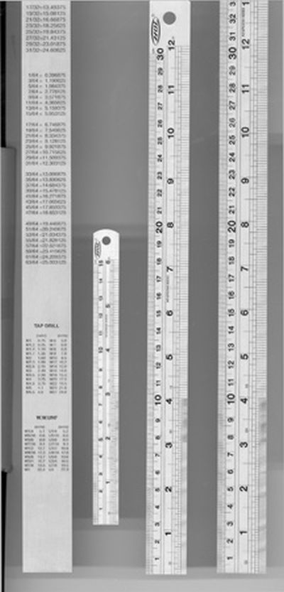 Expo STAINLESS STEEL RULE 6 inch rule 740-10