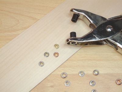 Extra Eyelets (500) for Hole Punch & Eyelet Plier Set