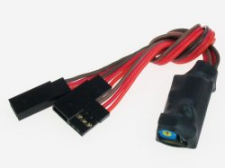 JR Y LEAD WITH POSITION TRIM FOR ONE SERVO