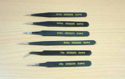 Expo Professional Tweezer Set