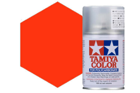 Tamiya PS-24 Fluorescent Orange