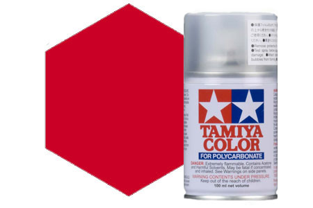Tamiya PS-37 Translucent Red