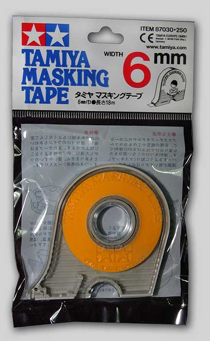 Tamiya Masking Tape with Dispenser (6mm)