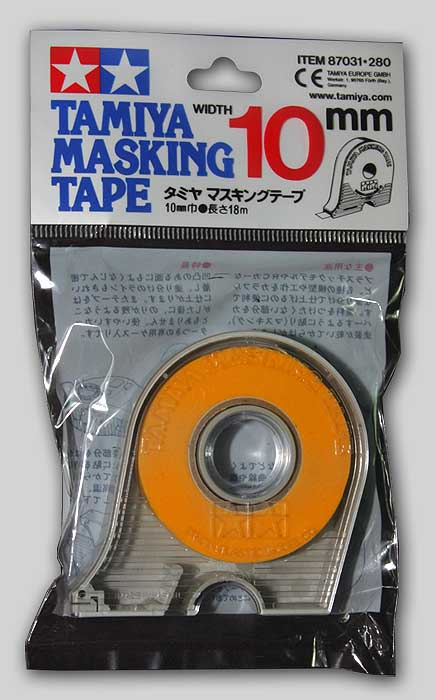 Tamiya Masking Tape with Dispenser (10mm)