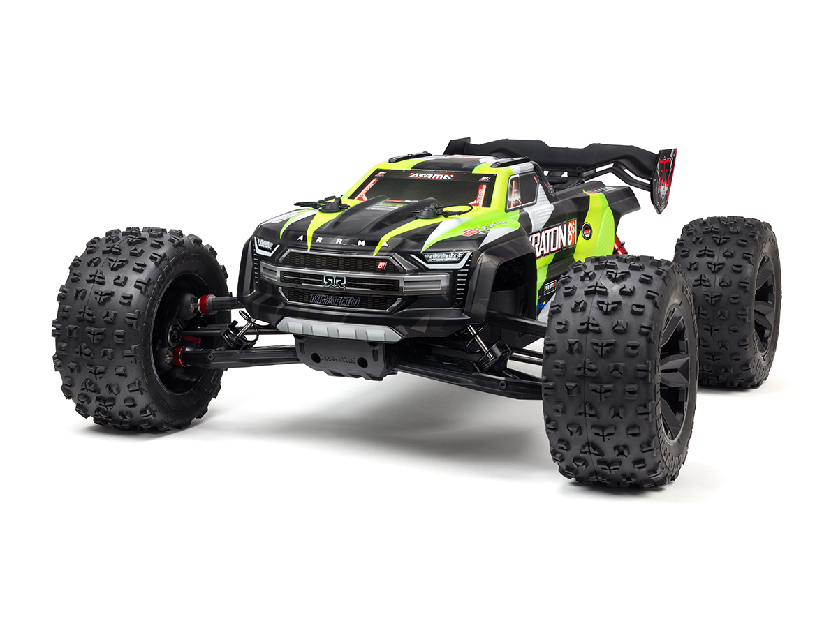 ARRMA KRATON 8S 4x4 BLX 1/5 Speed Monster Truck - Green