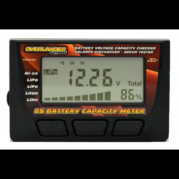 Overlander 8S Battery Capacity Meter