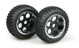 Tyre/Wheel Complete (Desert)(2) D08B04SBA02AL