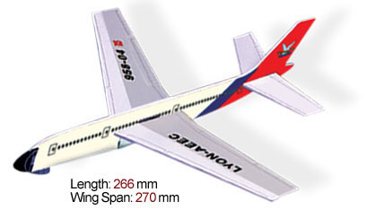 A4 Large Transport Airplane
