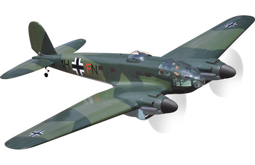 Black Horse Heinkel He 111 EP ARTF