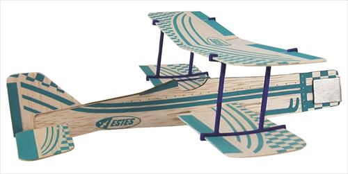 Bi-Plane Balsa Chuck Glider