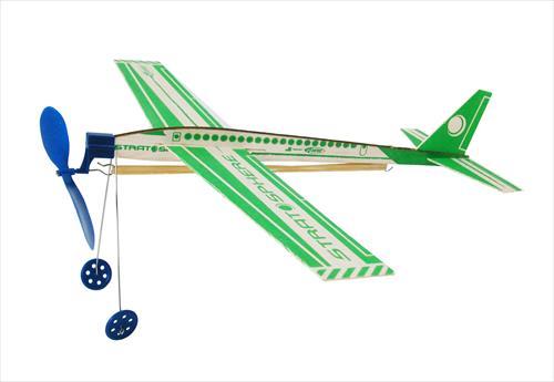 Stratosphere Balsa Rubber Band Glider