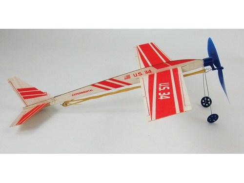 Super Stratosphere Balsa Rubber Band Glider