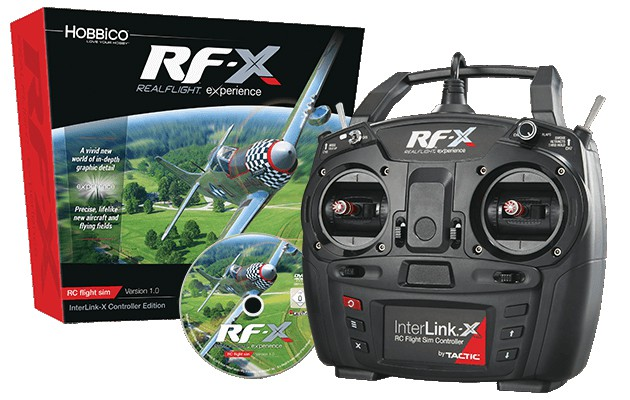 RealFlight RF-X with Interlink-X Controller