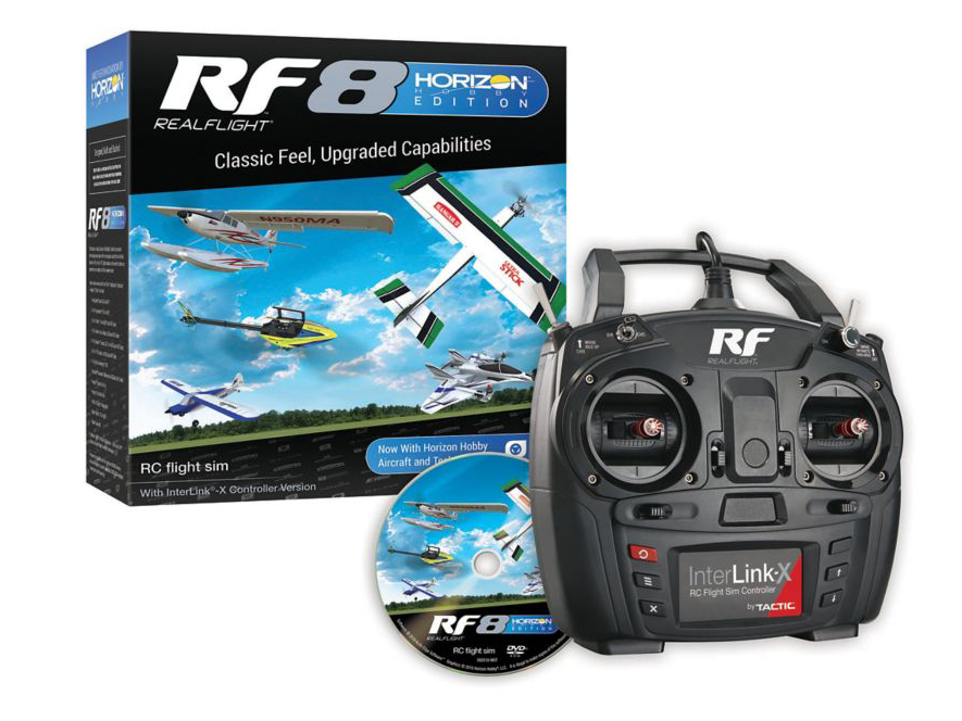RealFlight RF8 with Interlink X Horizon Hobby Edition