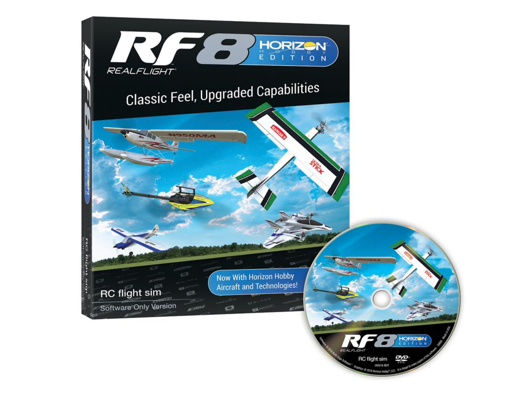RealFlight RF8 software only Horizon Hobby Edition