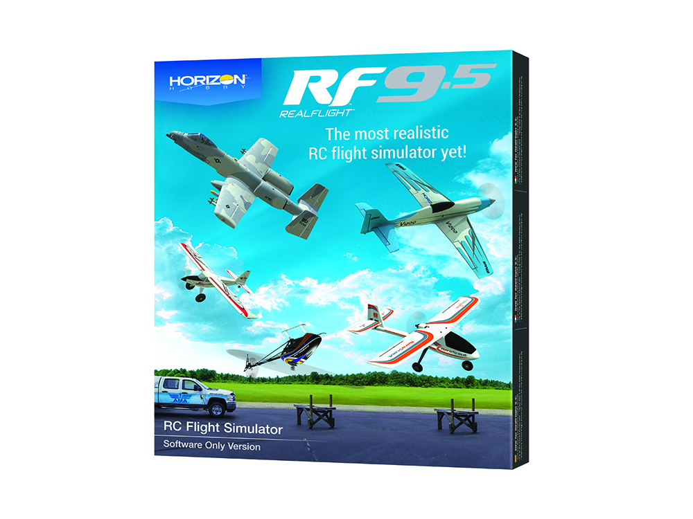 RealFlight 9.5 RC Flight Simulator Software Only
