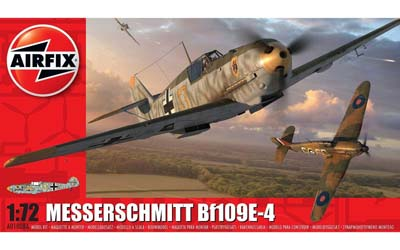 Airfix Messerschmitt Bf 109 E-4 1:72nd Scale