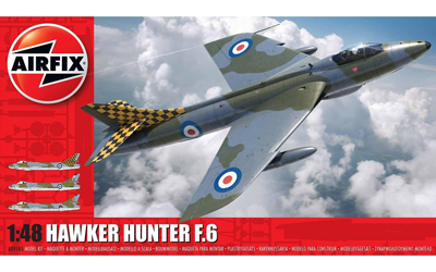 Airfix Hawker Hunter F.6 1:48 scale