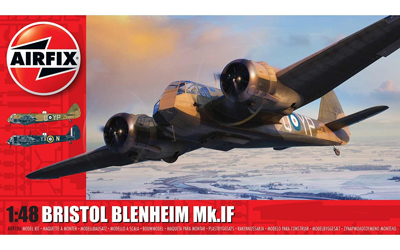 Airfix Bristol Blenheim Mk.IF 1:48 scale
