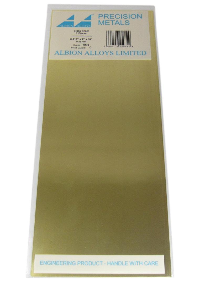 0.010in Brass Sheet
