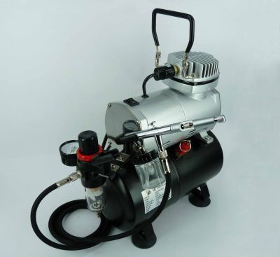 Airbrush Set  with Compressor