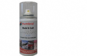 Humbrol 150ml spray Acrylic 49 Varnish Matt