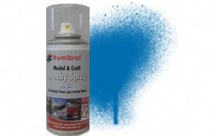 Humbrol 150ml Spray Acrylic 52 Baltic Blue Metallic