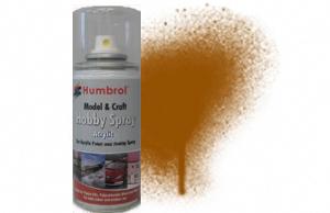 Humbrol 150ml Spray Acrylic 55 Bronze Metallic