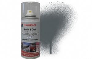 Humbrol 150 ml Spray Acrylic 67 Tank Grey Matt