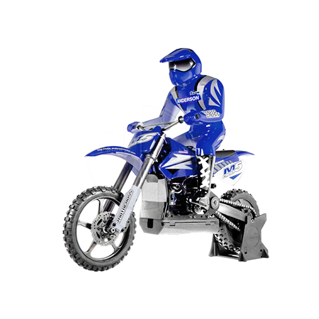 M5 Cross (Blue) RC Motocross Bike