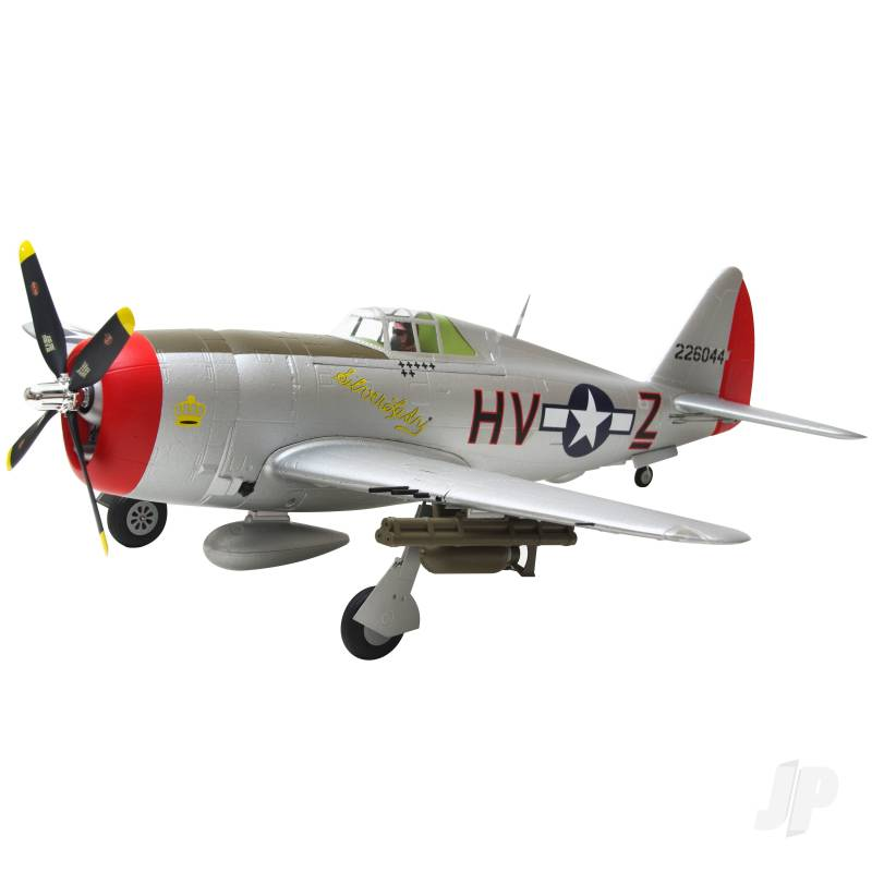 P-47 Thunderbolt PNP with Retracts (980mm)