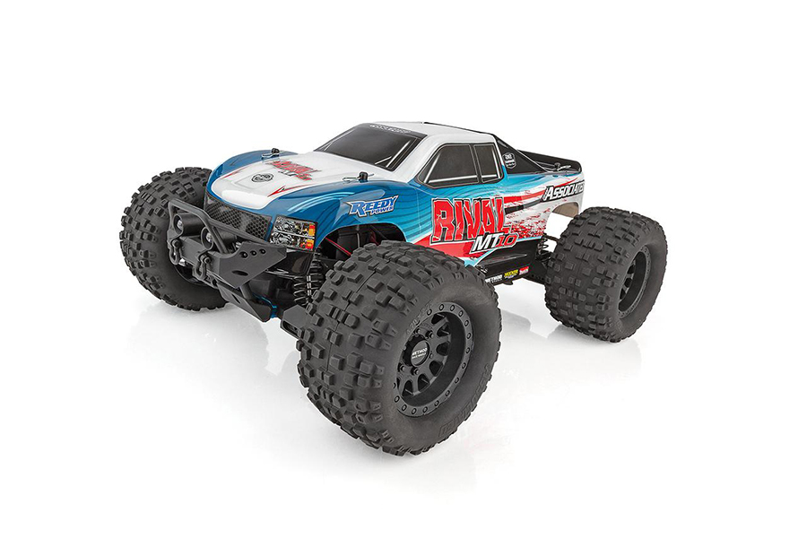 TEAM ASSOCIATED RIVAL MT10 ARTR TRUCK BRUSHLESS/2-3S RATED