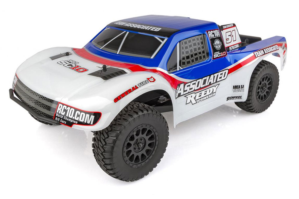 TEAM ASSOCIATED PRO SC10 AE 2WD BRUSHLESS RTR TRUCK