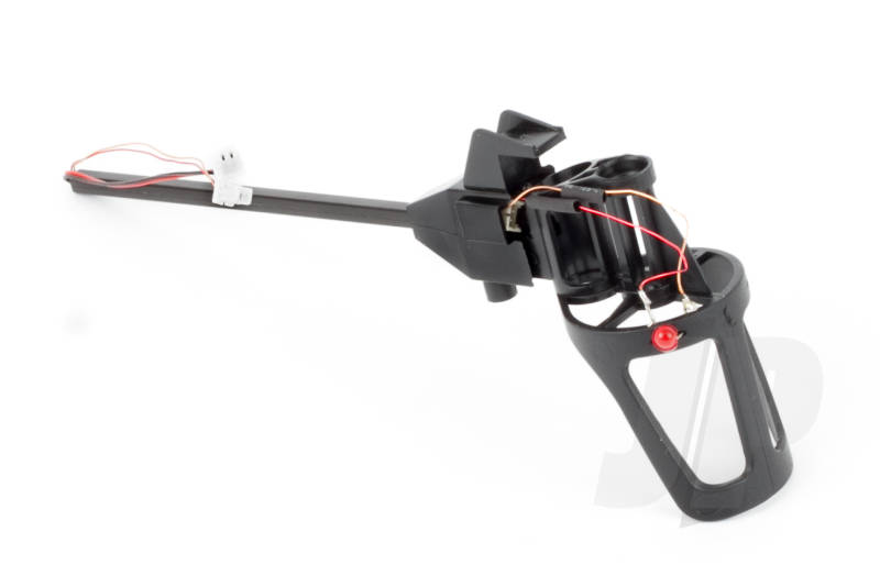 Motor Mount/Landing Skid and Boom Assembly, Right Rear with Red LED (Ethos QX130)