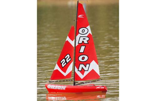 Joysway Orion Yacht RTR 2.4GHz (Red)
