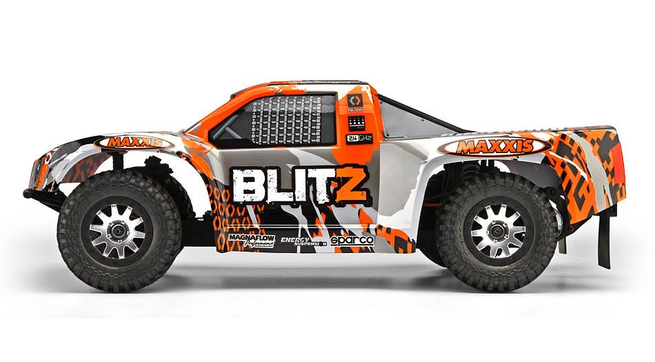 HPI BLITZ 1/10 2WD ELECTRIC SHORT COURSE TRUCK