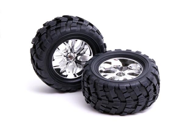 Wheel Assembly (Chrome)